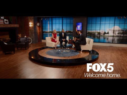 WELCOME TO THE LOFT: Your new home for FOX 5 News and Good Day DC in the  morning