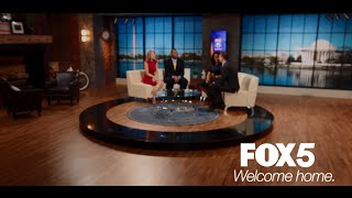 Gambar cover WELCOME TO THE LOFT: Your new home for FOX 5 News and Good Day DC in the morning