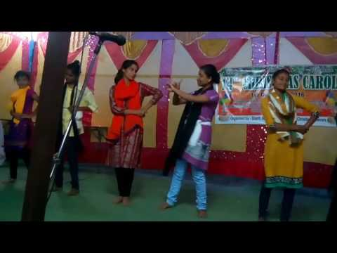 Prem prem prem tate jisu kala performance by shantinagar Christian youths