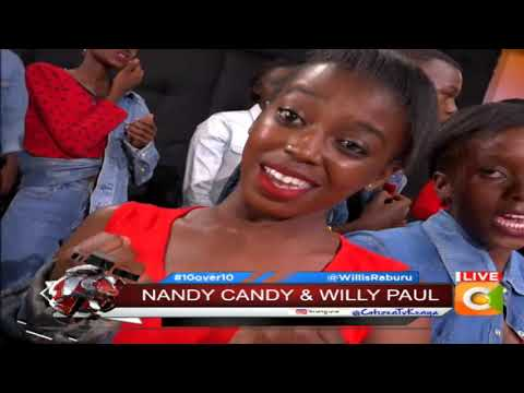 10 OVER 10 | Nandy and Willy Paul perform 'Njiwa' live on 10over10