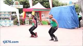 �������� ���� Jamaican Reggae Dancehall Routine - By: Dance Xpressionz Part 2 ������