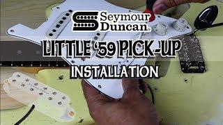 Kiesel GH3- Seymour Duncan Little '59 vs Invader - Eric Bourassa