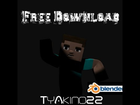 Blender 2.66 VMComix Minecraft Rig | + Download