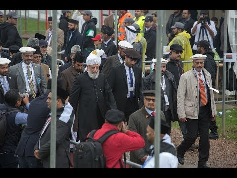 Jalsa Salana UK 2017: Flag Hoisting and Opening Session