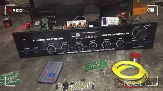 Amplifier 5.1 DTS siround