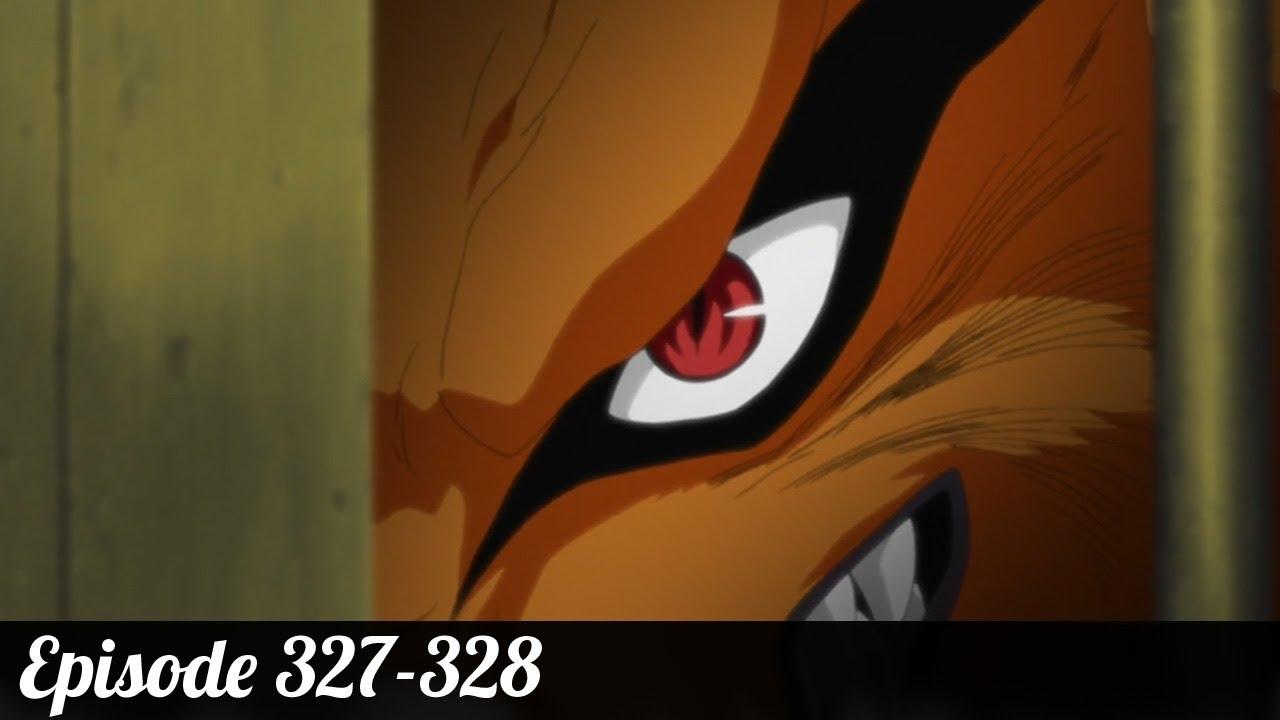 Review Naruto Shippuden Episode 327 328 Kyuubi No Yoko YouTube