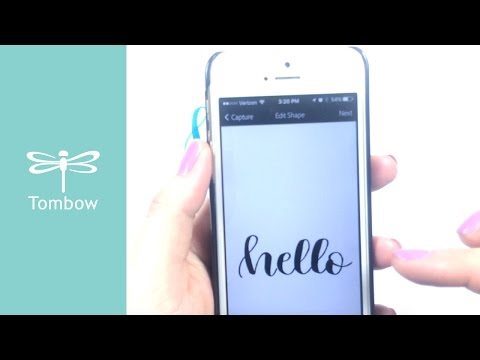 How to Digitize Your Hand Lettering - YouTube
