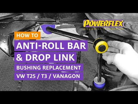 VW T3 / T25 / Vanagon - ARB and Drop Link Bush Replacement