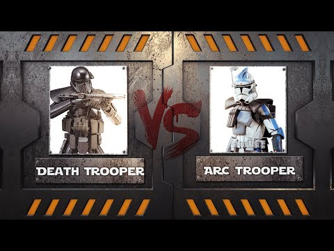 Death Trooper vs ARC Trooper - Star Wars Lore Duel