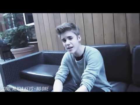 Justin Bieber singing ACAPELLA