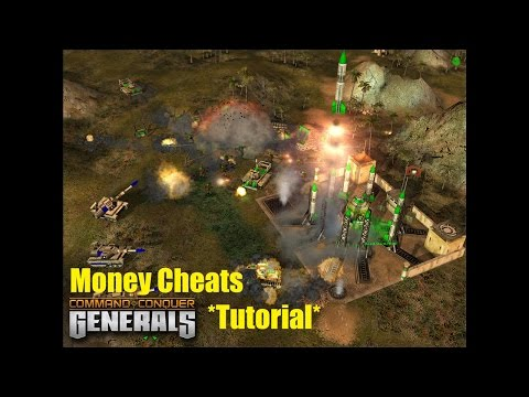 How To Use Cheats In Command & Conquer Generals (Zero Hour Or Any Mod)
