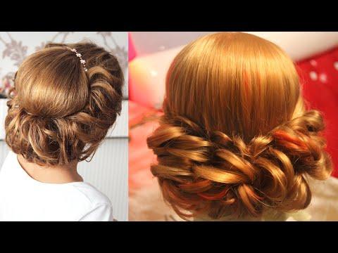 Сборник - Причёски в греческом стиле - Hairstyles tutorials compilation (time 28:23) by REM