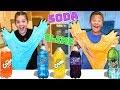 Making Soda Slime USING REAL SODA!! w/ Marissa and Brookie