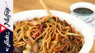 Tavuklu Sebzeli Noodle - Arda'nın Mutfağı