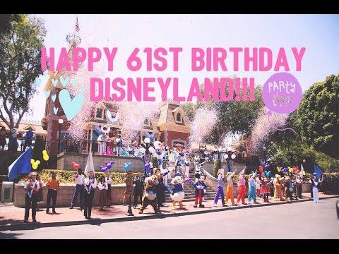 Disneyland's Magical 61st Birthday Bash July 17, 2016