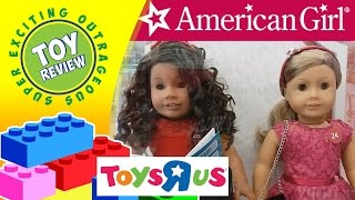 New American Girl Doll Aisle at Toys R Us - SEO Toy Review