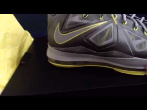 High Quality Nike Lebron 10 Yellow Diamond