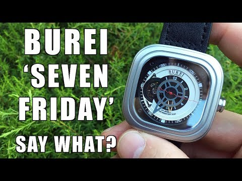 Underverse! Burei Square Silver Automatic Watch Review (S-15007M) c/o GearBest - Perth WAtch #130