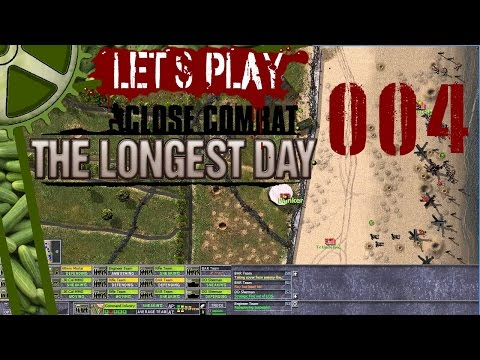Let's Play: Close Combat, The Longest Day (004): Assault On Le Port Brehay, One Panzer For Scrap streaming vf