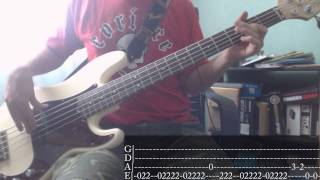 Rage Against The Machine - Know Your Enemy [Bass Cover + Tab]