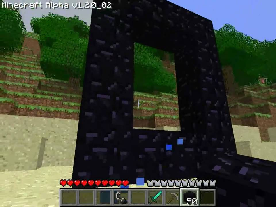 Enfer comment cr er un portail hell nether how create a portal youtube - Comment creer un chateau dans minecraft ...