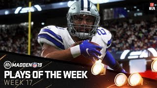 Madden 19 - Plays of the Week 17