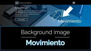 Como hacer imagen en Movimiento | Html5 - Css3 | Muy Fácil