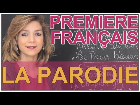 Réécritures : la parodie - Français - 1ère L - Les Bons Profs