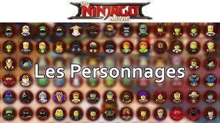 LEGO NINJAGO LE FILM - Les Personnages