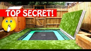Most Amazing Trampolines Ever!! Secret Trampoline?! Part 1