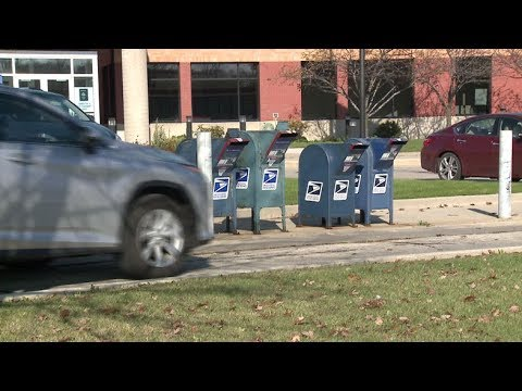 Mail Stolen From Drop Box Outside Post Office