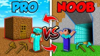 Minecraft Noob Vs. Pro  Swapped Life 2 In Minecraft Animation
