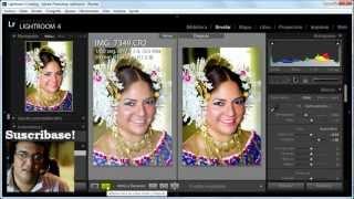 Tips Lightroom 4 - Editando Expocición, Contraste, Color y Corrección de Piel