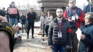 Митинг в Томске 26.03.17 #ДимонОтветит (Он нам не Димон)