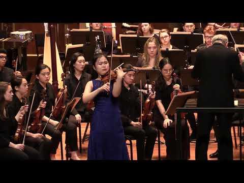 SooBeen Lee(17yrs) - Sibelius Violin Concerto in d minor, Op. 47