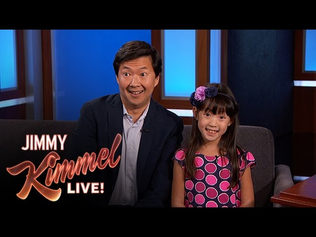 Ken Jeong Gets Daughter S Perspective On New Movie Youtube