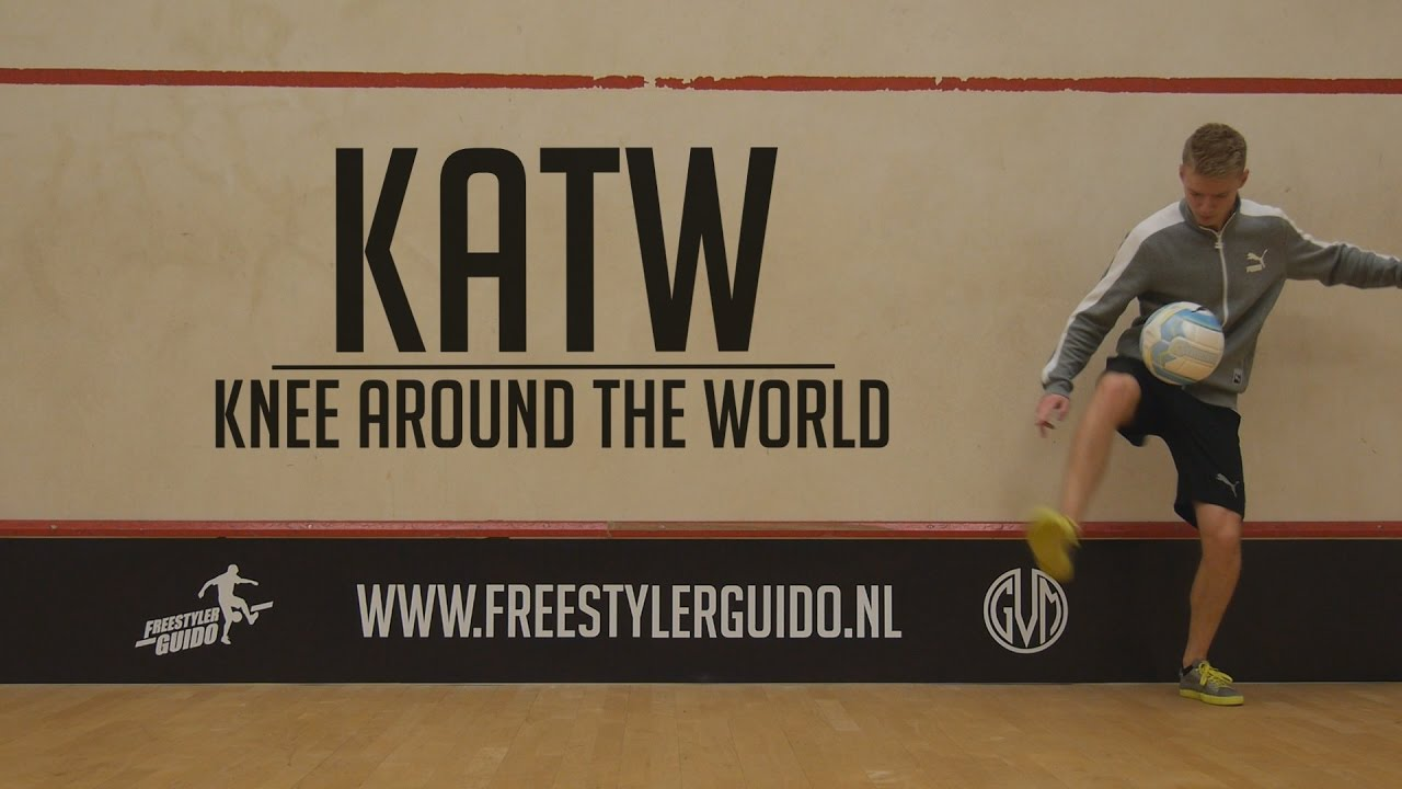 Leer Freestyle Voetbal: Knee Around the World // KATW