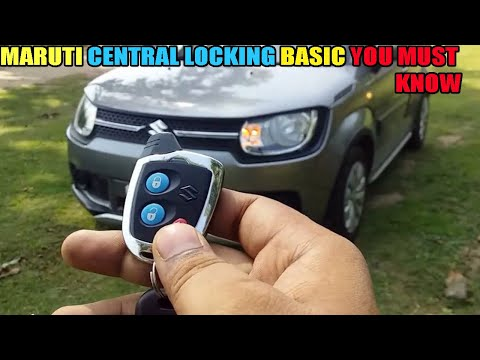 Maruti Suzuki Nippon Central Locking  Basic Features That   You Must Know ( hindi)