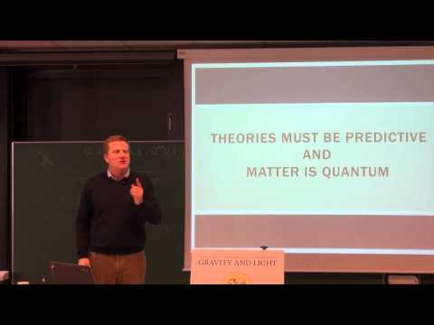 Lecture 26: How quantizable matter gravitates (International Winter School on Gravity and Light)