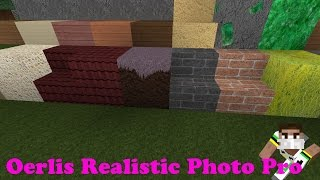 Minecraft Resource Pack Review - Oerlis Realistic Photo Pro Thumbnail