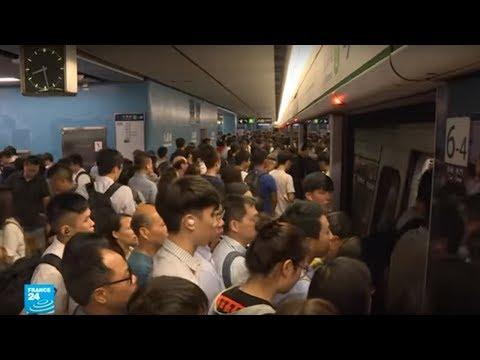 هونغ كونغ: المتظاهرون يحاولون مجددا تعطيل حركة المترو داعين إلى إضراب عام في البلاد  - 16:55-2019 / 9 / 2