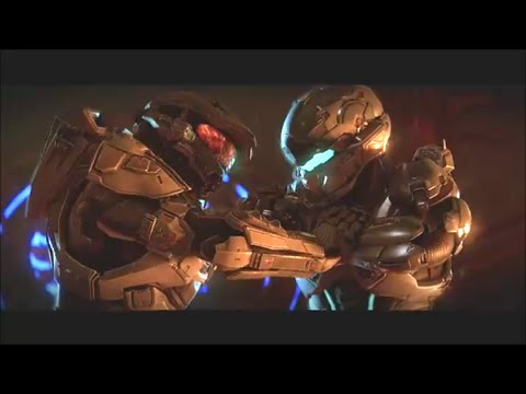 Halo 5 Master Chief vs Locke Fight Scene