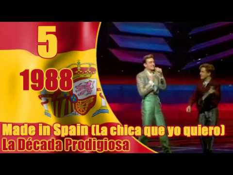 Eurovision: SPAIN's Top 10 Songs