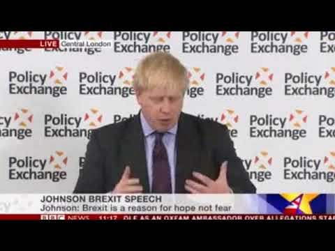 The Road to Brexit: Boris Johnson (Full Speech and Q&A)