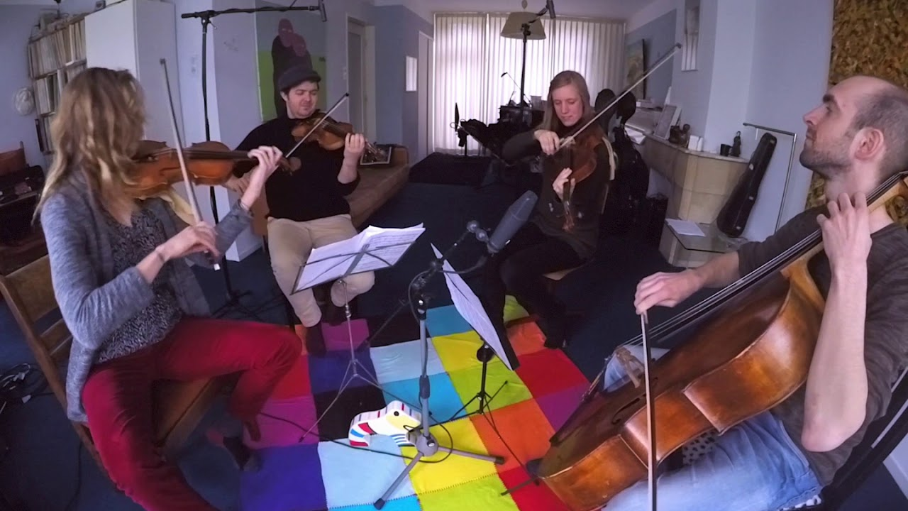 Bombay Dog - North Sea String Quartet @ Living Room Session - YouTube