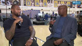 DeMarcus Cousins Sits Down With Monte Poole (Full Interview)