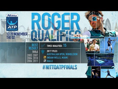 Federer Qualifies For Nitto ATP Finals 2017