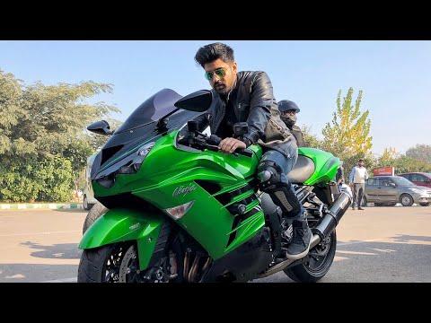 CHASING SUPERBIKES IN DELHI  | BILLIONAIRE BOYS OF INDIA | HAYABUSA , Kawasaki ninja , KTM RC