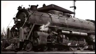 The biggest steam locomotive of the Frisco Railway! Video