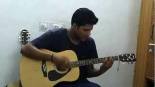 dekha tujhe to hua mein dewana guitar cover
